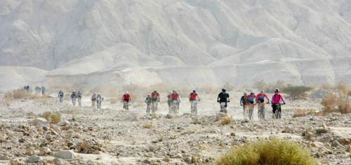 Veolia Desert Challenge paricipants