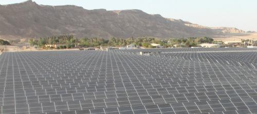 Arava Power solar field on Kibbutz Ketura