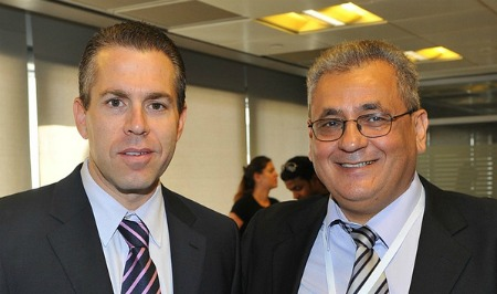 Environment Minister and Haim Alush