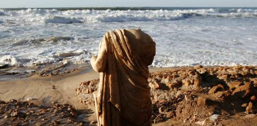 Roman statue found on Israel's coast