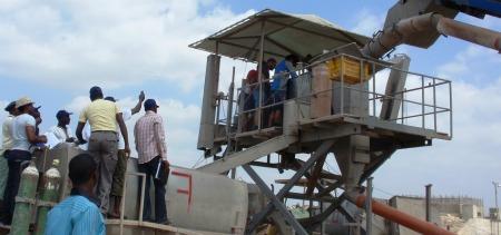 Nigerians working