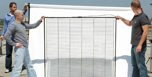 The world's first solar window, Pythagoras.