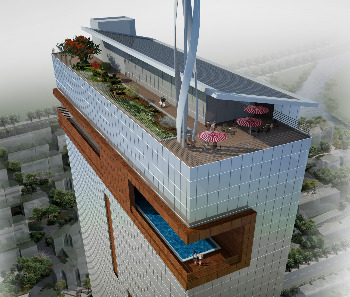 Tel Aviv's first office eco-tower