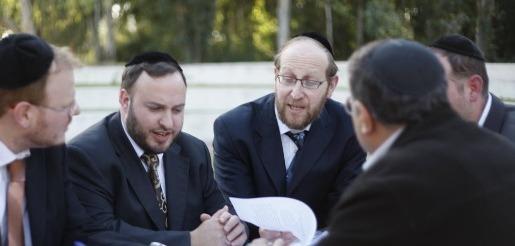 Rabbi Yehuda Gannot with team