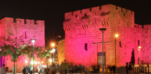 Race for the Cure in Jerusalem