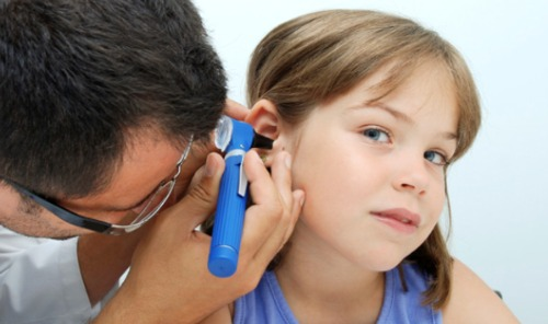 Child ear infection