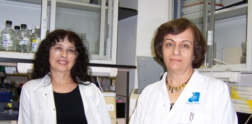 Dr. Shoshana Israel and Dr. Amal Bishara