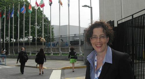 Viva Sarah Press at UN