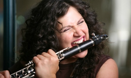 Tel Aviv-born jazz clarinet player Anat Cohen was just named Clarinetist of the Year by the Jazz Journalist's Association for the fifth year in a row. Photo by Osnat Rom