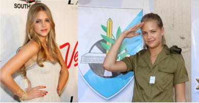 Esti-Ginzburg-Supermodel-Serving-in-IDF