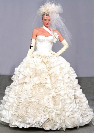 And the bride wore a pnina tornai dress israel21c pnina tornai wedding dress junglespirit Gallery