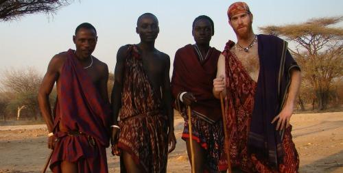 Roei Sadan in Tanzania