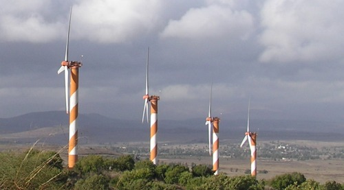 Golan wind turbines