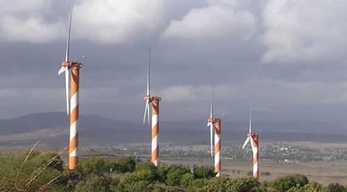 Golan wind turbines