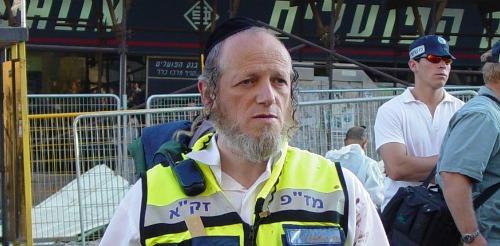 ZAKA founder Yehuda Meshi-Zahav