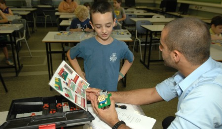 Amir teaching