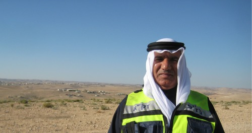 Bedouin ZAKA volunteer