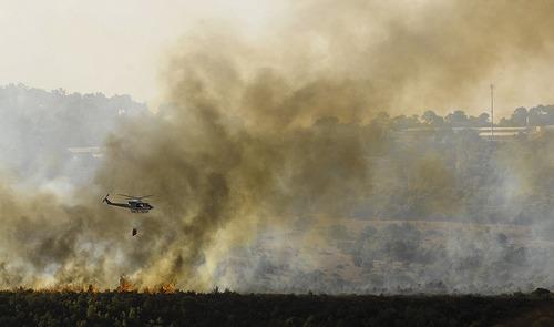 Carmel forest fire