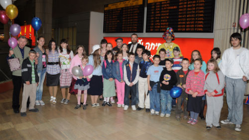 Chabad brings Chernobyl children to Israel