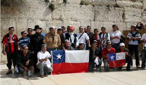 Miners at Western Wall