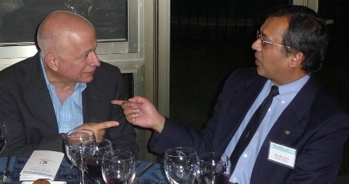 Efi Cohen-Arazi and Dr. Sunil Patel