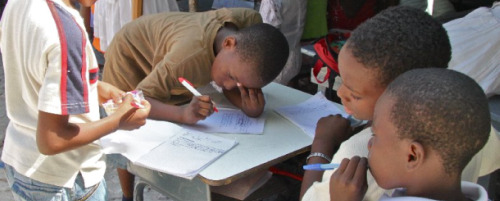 Students-in-Haiti