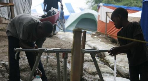 Clean water for children in Haiti