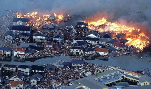 Japan after earthquake