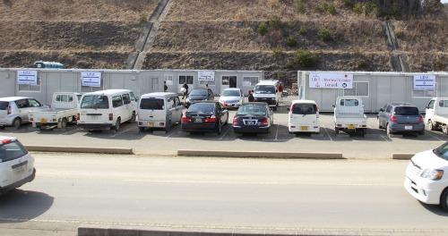 Field hospital caravans