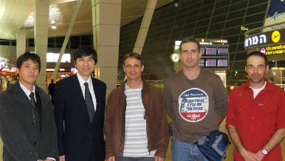 Israeli emergency medical team and Japanse Ambassador