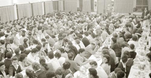 Kibbutz dining hall