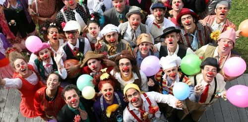 Medical clowns