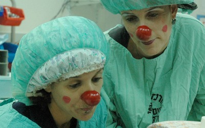 Medical clowns
