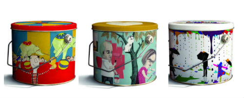 Paint can art