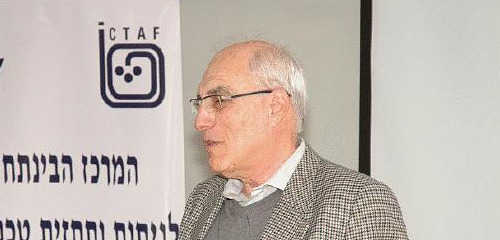 ICTAF Director, Dr. Yair Sharon