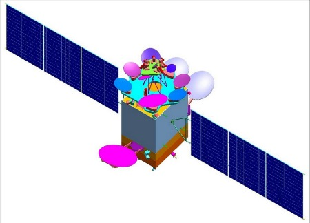 Spacecom satellite