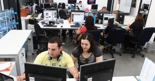 AnyClip office in Jerusalem