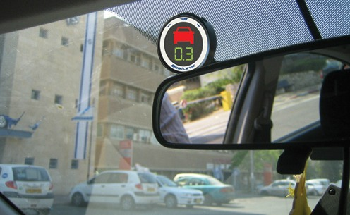 How does MobileEye keep drivers safe? Photo: courtesy