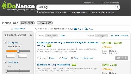 DoNanza job search