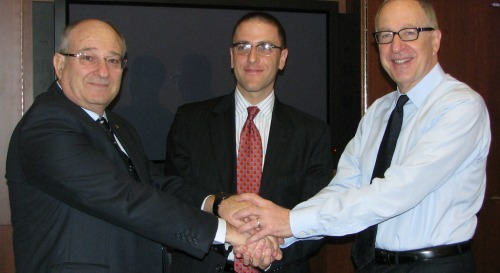 Technion and Cornell presidents