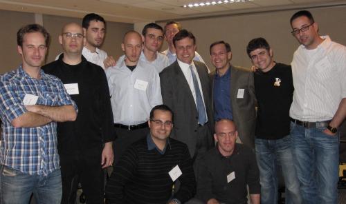 Tel Aviv Tech Tour participants