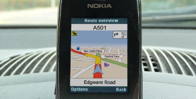 Telmap Nokia Application