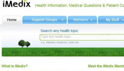 iMedix Homepage