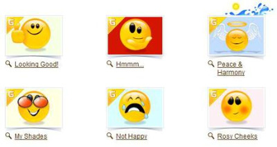 IncrediMail emoticons