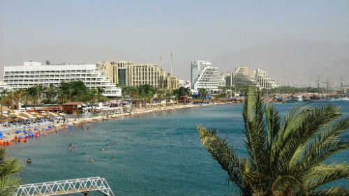 Eilat tourism beaches