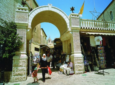 Nazareth Old marketplace