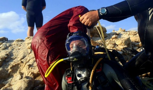 Diving where few men have dived before - ISRAEL21c
